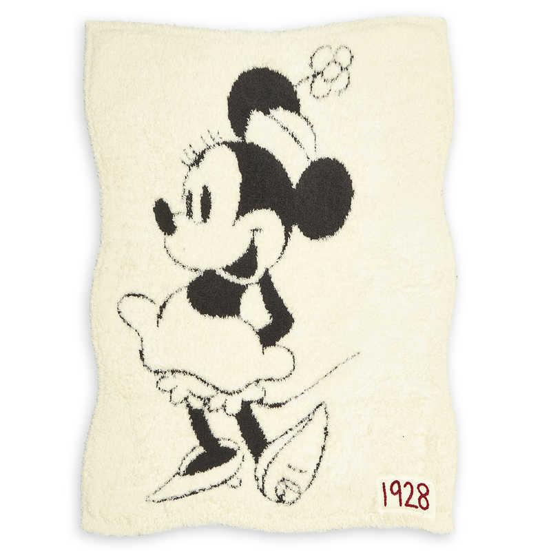 【取寄せ】 ディズニー Disney US公式商品 ミニーマウス ミニー ドリーム ブランケット 毛布 タオル ベビー リバーシブル ベアフットドリームズ 赤ちゃん 幼児 女の子 男の子 [並行輸入品] Minnie Mouse Reversible Baby Blanket by Barefoot Dreams グッズ ストア プレゼン