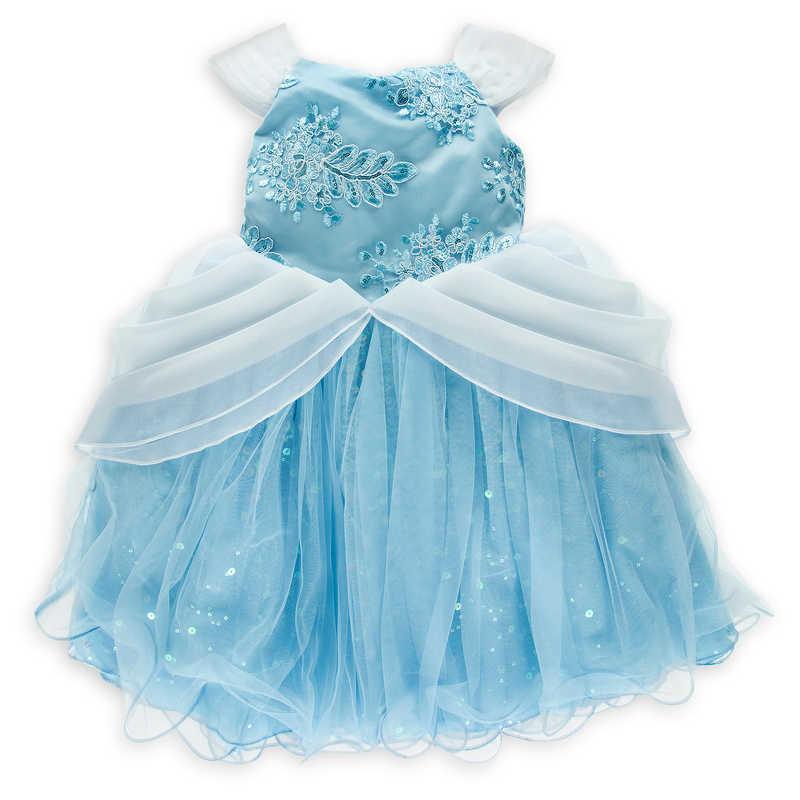 【取寄せ】 ディズニー Disney US公式商品 シンデレラ プリンセス ドレス 洋服 署名 サイン 子供 キッズ 女の子 男の子 [並行輸入品] Cinderella Signature Dress for Kids グッズ ストア プレゼント ギフト 誕生日 人気 クリスマス 誕生日 プレゼント ギフト