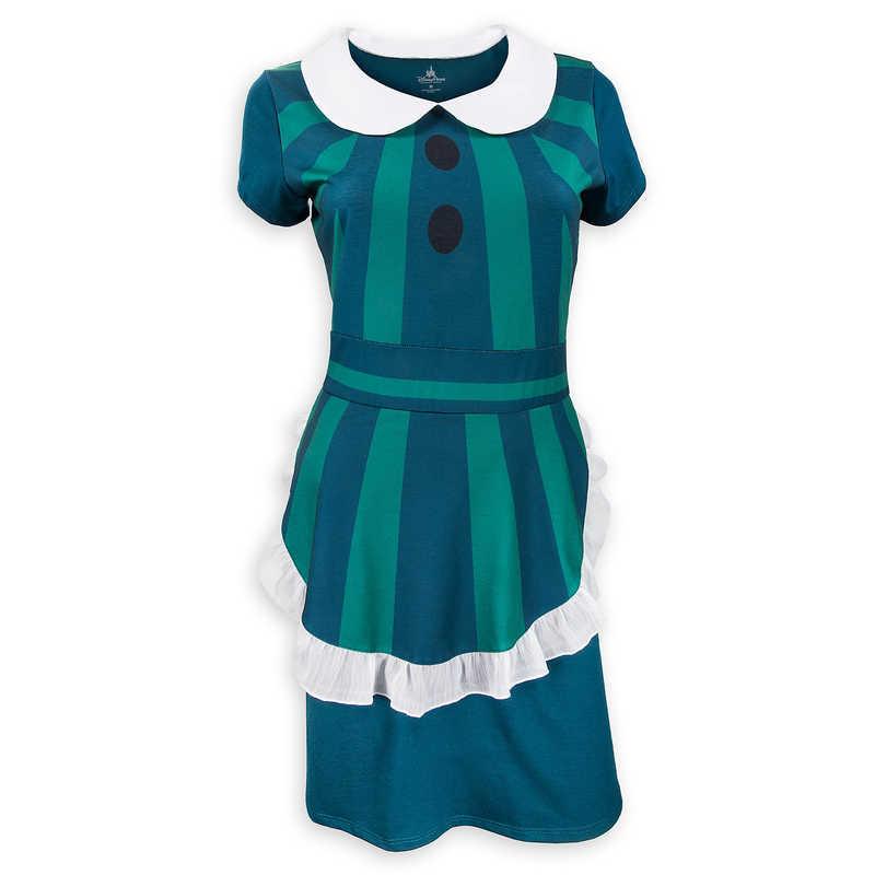 【1-2日以内に発送】 ディズニー Disney US公式商品 ホーンテッドマンション ドレス 洋服 コスチューム 衣装 服 コスプレ ハロウィン ハロウィーン レディース 大人 女性 [並行輸入品] The Haunted Mansion Hostess Costume Dress for Women グッズ ストア プレゼント