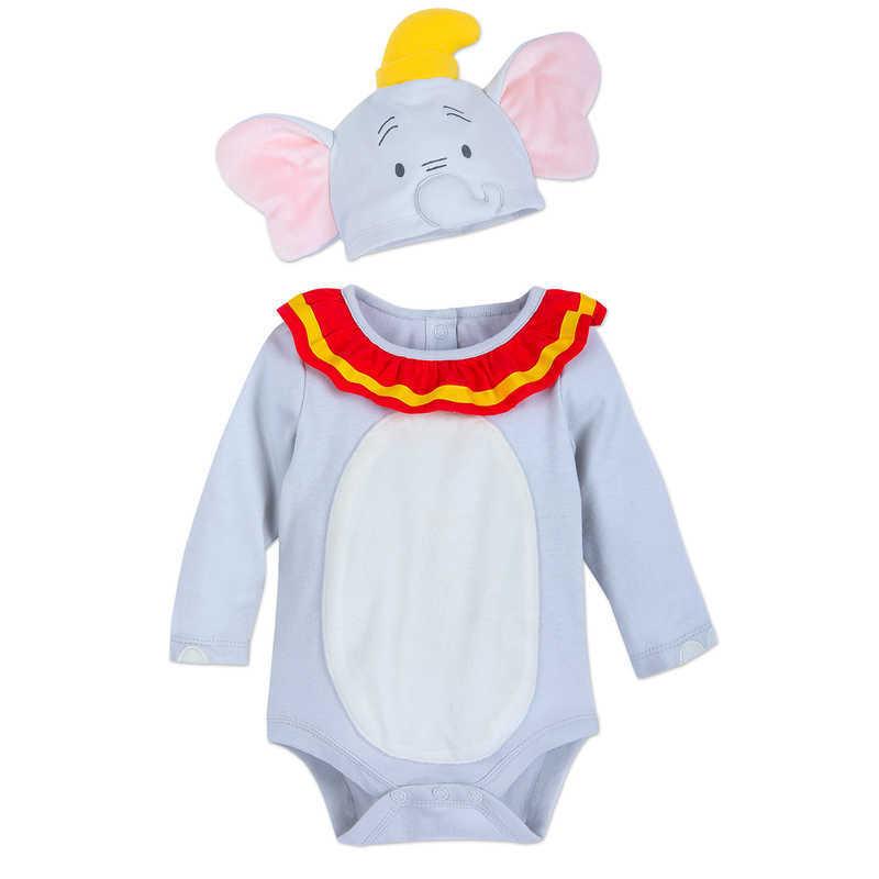【あす楽】 ディズニー Disney US公式商品 ダンボ Dumbo コスチューム 衣装 ドレス 服 コスプレ ハロウィン ハロウィーン ロンパース ボディスーツ ボディースーツ セット ベビー 赤ちゃん 幼児 女の子 男の子 [並行輸入品] Costume Bodysuit Set for Baby グッズ スト