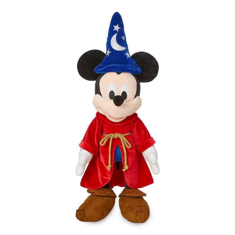 【取寄せ】 ディズニー Disney US公式商品 ミッキーマウス ミッキー 大サイズ ぬいぐるみ 人形 おもちゃ 67.5cm 魔法使い ソーサラー [並行輸入品] Sorcerer Mickey Mouse Plush - Large 27'' グッズ ストア プレゼント ギフト 誕生日 人気 クリスマス 誕生日 プレゼント ギ