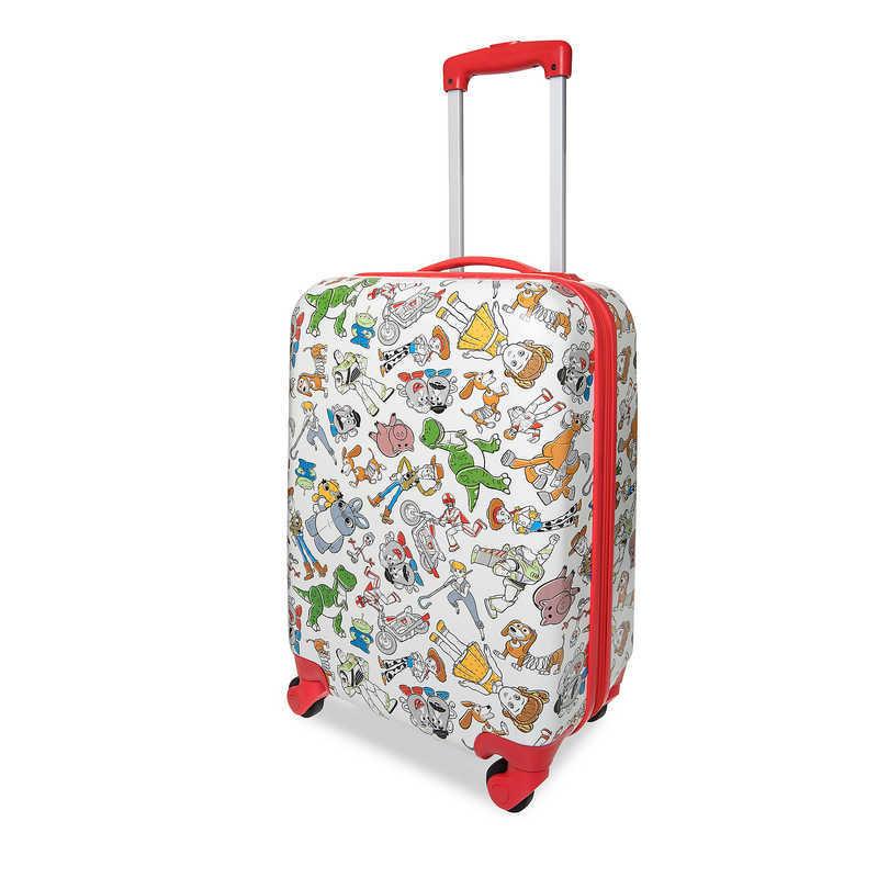 【取寄せ】 ディズニー Disney US公式商品 トイストーリー キャリーバッグ 鞄 カバン スーツケース 旅行 バッグ 小サイズ ラゲージ キャリーケース ころころ かばん [並行輸入品] Toy Story 4 Rolling Luggage - Small グッズ ストア プレゼント ギフト クリスマス 誕生日 人