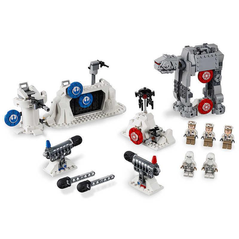【取寄せ】 ディズニー Disney US公式商品 スターウォーズ レゴブロック LEGO レゴ おもちゃ 玩具 トイ セット [並行輸入品] Action Battle Echo Base Defense Play Set by - Star Wars: The Empire Strikes Back グッズ ストア プレゼント ギフト クリスマス 誕生日 人気