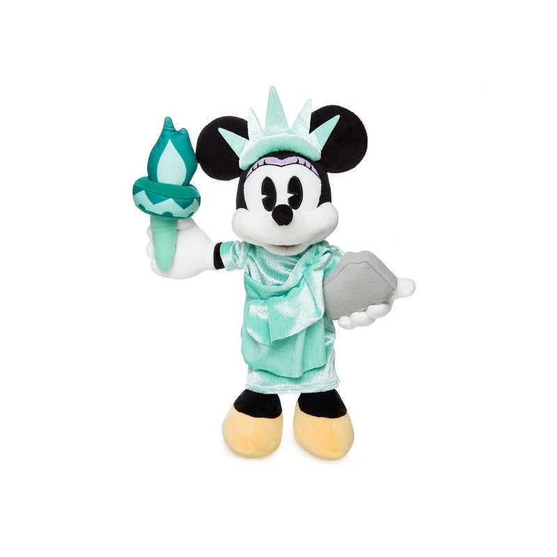 【取寄せ】 ディズニー Disney US公式商品 ミニーマウス ミニー 小サイズ ぬいぐるみ 人形 おもちゃ [並行輸入品] Minnie Mouse Plush - New York Small 12 1/2'' グッズ ストア プレゼント ギフト クリスマス 誕生日 人気