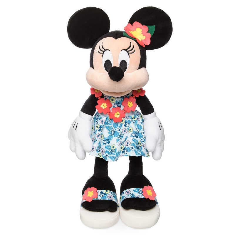 【取寄せ】 ディズニー Disney US公式商品 ミニーマウス ミニー ぬいぐるみ 人形 おもちゃ 45cm [並行輸入品] Minnie Mouse Plush - Hawaii 18'' グッズ ストア プレゼント ギフト クリスマス 誕生日 人気