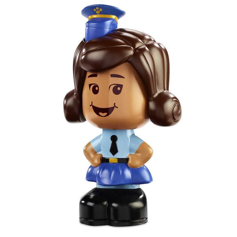 【あす楽】 ディズニー Disney US公式商品 トイストーリー ギグルマクディンプルズ ギグル フィギュア 置物 人形 しゃべる 声が出る英語(日本語無し) おもちゃ [並行輸入品] Officer Giggle McDimples Talking Figure - Toy Story 4 グッズ ストア プレゼン