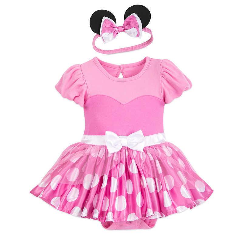 Disney Minnie Babies Girls Body beb/é Rosa