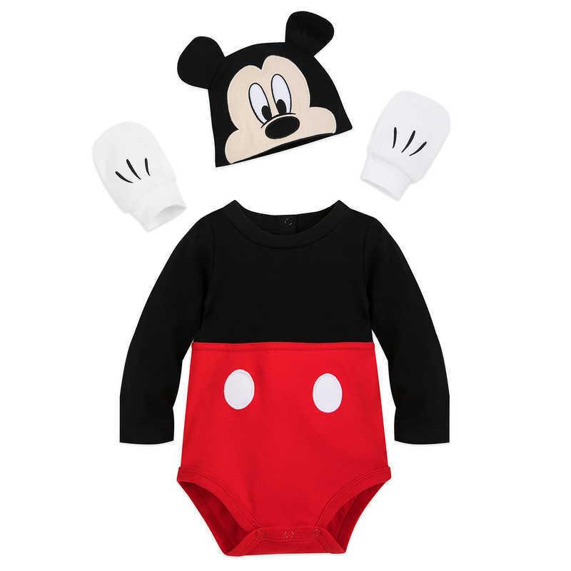 【取寄せ】 ディズニー Disney US公式商品 ミッキーマウス ミッキー コスチューム 衣装 ドレス 服 コスプレ ハロウィン ハロウィーン ロンパース ボディスーツ ボディースーツ セット ベビー 赤ちゃん 幼児 女の子 男の子 [並行輸入品] Mickey Mouse Costume Bodysuit Set fo