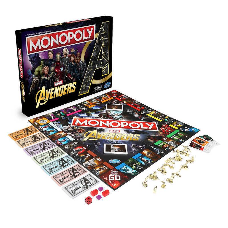 【取寄せ】 ディズニー Disney US公式商品 アベンジャーズ Avengers マーベル Marvel モノポリー テーブルゲーム おもちゃ 玩具 ゲーム [並行輸入品] Marvel's Monopoly Game グッズ ストア プレゼント ギフト クリスマス 誕生日 人気