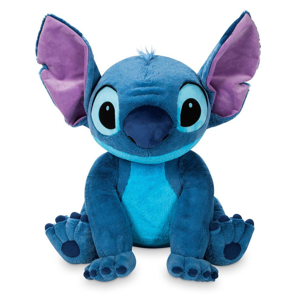 【取寄せ】 ディズニー Disney US公式商品 スティッチ リロとスティッチ ぬいぐるみ 人形 おもちゃ 65cm [並行輸入品] Stitch Plush ? Jumbo 26'' グッズ ストア プレゼント ギフト クリスマス 誕生日 人気