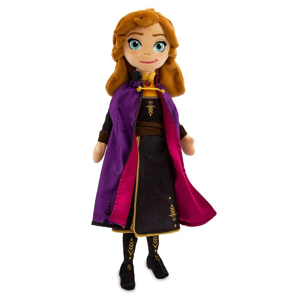 【1-2日以内に発送】 ディズニー Disney US公式商品 アナ雪2 アナと雪の女王 アナ雪 2 プリンセス アナ 人形 ドール フィギュア おもちゃ 中サイズ ぬいぐるみ 45cm [並行輸入品] Anna Plush Doll Frozen II Medium 18'' グッズ ストア プレゼント ギフト クリスマス