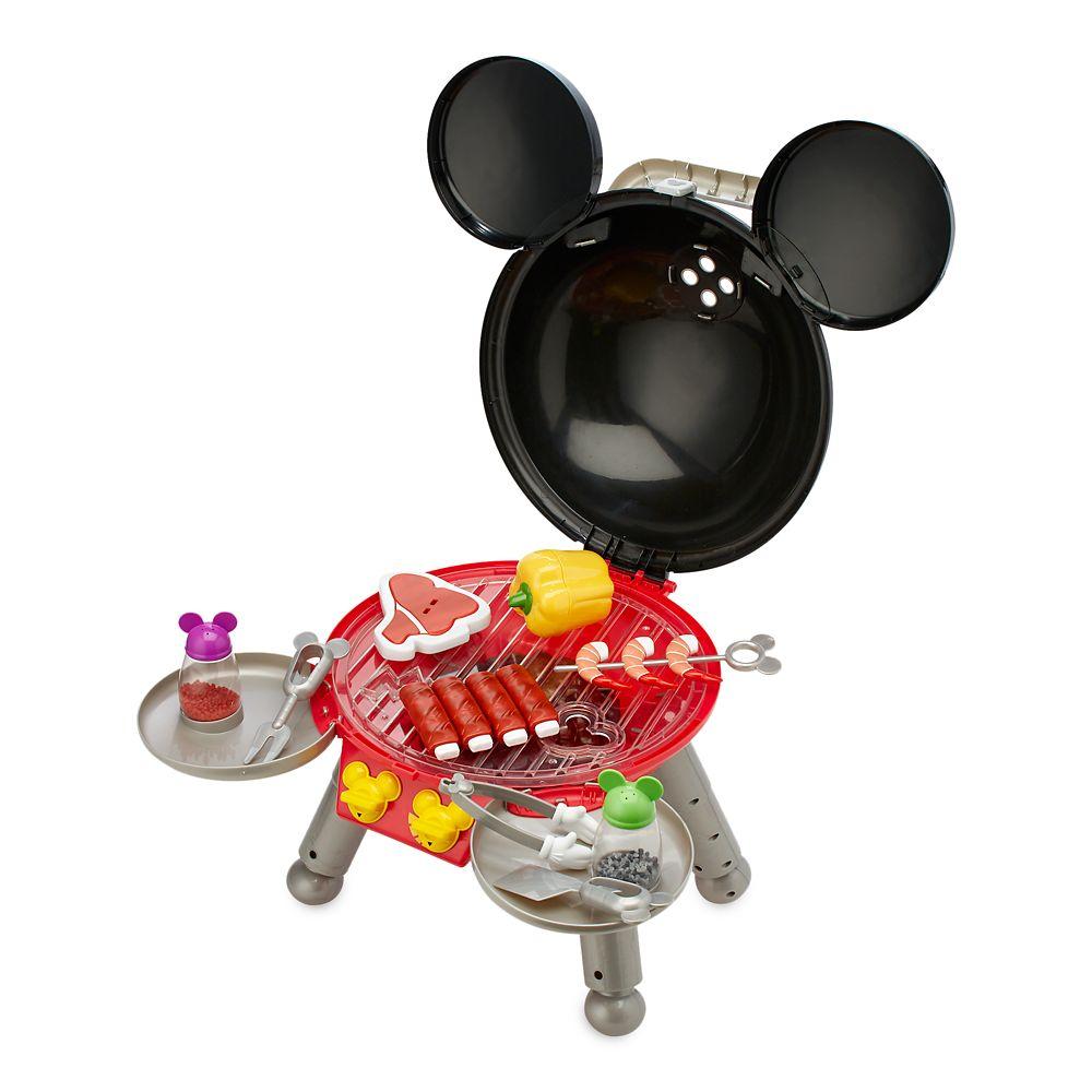 【外箱に凹みあり、中身は問題なし】【1-2日以内に発送】 ディズニー Disney US公式商品 ミッキーマウス ミッキー おもちゃ 玩具 トイ セット [並行輸入品] Mickey Mouse Barbecue Grill Play Set グッズ ストア プレゼント ギフト クリスマス 誕生日 人気