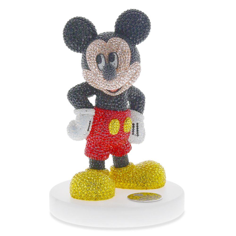 【取寄せ】 ディズニー Disney US公式商品 ミッキーマウス ミッキー アリバスブラザーズ フィギュア 置物 人形 ジュエリー [並行輸入品] Mickey Mouse Jeweled Figurine by Arribas Brothers グッズ ストア プレゼント ギフト クリスマス 誕生日 人気