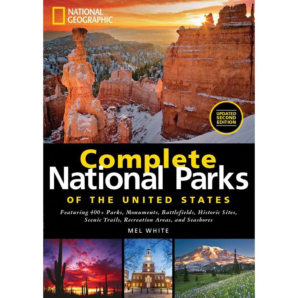 【取寄せ】 ディズニー Disney US公式商品 ナショナルジオグラフィック 本 洋書 英語 [並行輸入品] Complete National Parks of the United States Book ? Geographic グッズ ストア プレゼント ギフト クリスマス 誕生日 人気