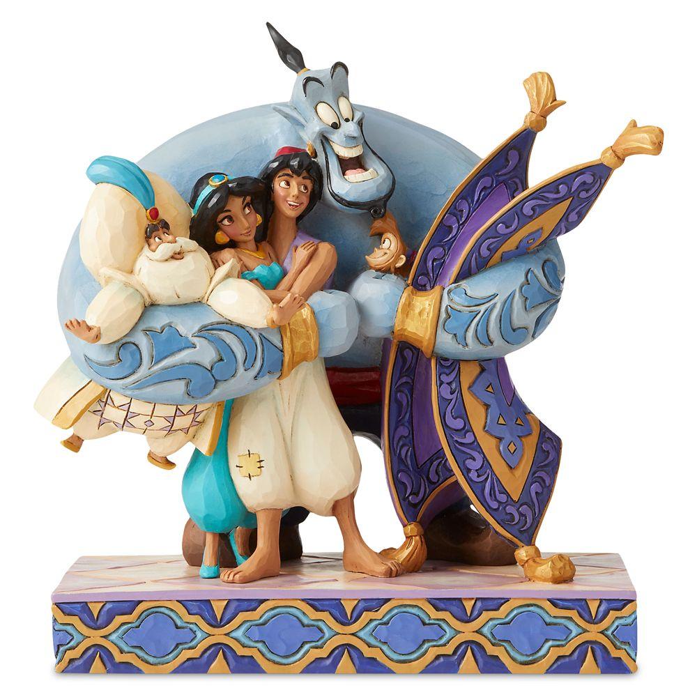 【取寄せ】 ディズニー Disney US公式商品 アラジン ジャスミン プリンセス 置物 フィギュア ジムショア 人形 [並行輸入品] Aladdin ''Group Hug'' Figurine by Jim Shore グッズ ストア プレゼント ギフト クリスマス 誕生日 人気