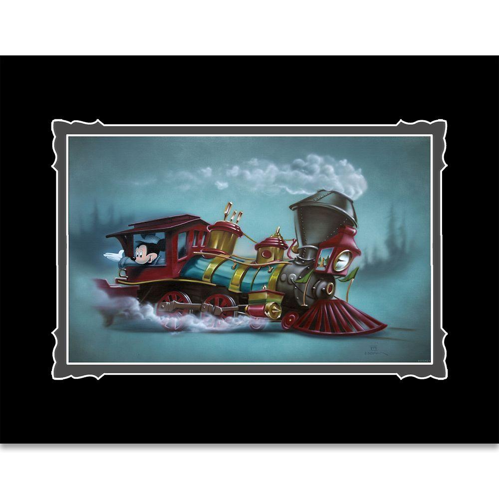 【取寄せ】 ディズニー Disney US公式商品 ミッキーマウス ミッキー 絵 アート デラックスプリント 絵画 プリント インテリア [並行輸入品] Mickey Mouse ''Lil Engineer'' Deluxe Print by Noah グッズ ストア プレゼント ギフト クリスマス 誕生日 人気