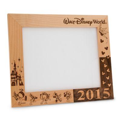 【取寄せ】ディズニー Disney US公式商品 ウォルトディズニーワールド フォトフレーム 写真フレーム 写真立て 額 25cm 20cm アリバスブラザーズ [並行輸入品] Walt Disney World 2016 Frame by Arribas - 8'' x 10'' Personalizable