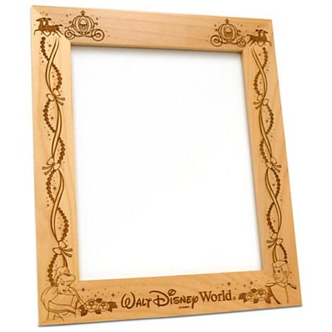 【取寄せ】ディズニー Disney US公式商品 シンデレラ プリンセス フォトフレーム 写真フレーム 写真立て 額 25cm 20cm アリバスブラザーズ [並行輸入品] Prince Charming and Cinderella 8'' x 10'' Frame by Arribas - Personalizable グッ