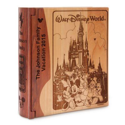【取寄せ】ディズニー Disney US公式商品 ウォルトディズニーワールド フォトアルバム 写真アルバム アリバスブラザーズ [並行輸入品] Walt Disney World Photo Album by Arribas - Personalizable