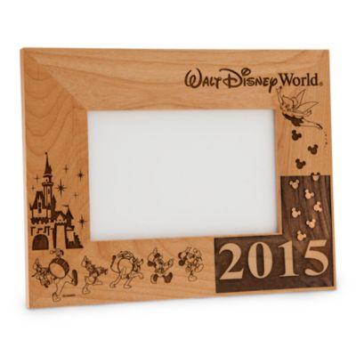 【取寄せ】ディズニー Disney US公式商品 ウォルトディズニーワールド フォトフレーム 写真フレーム 写真立て 額 15cm 10cm アリバスブラザーズ [並行輸入品] Walt Disney World 2016 Frame by Arribas - 4'' x 6'' Personalizable