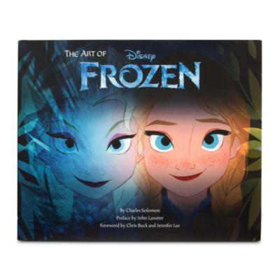 【取寄せ】ディズニー Disney US公式商品 アナ雪 アナと雪の女王 フローズン プリンセス 本 【洋書】 【英語】 アート [並行輸入品] The Art of Frozen Book