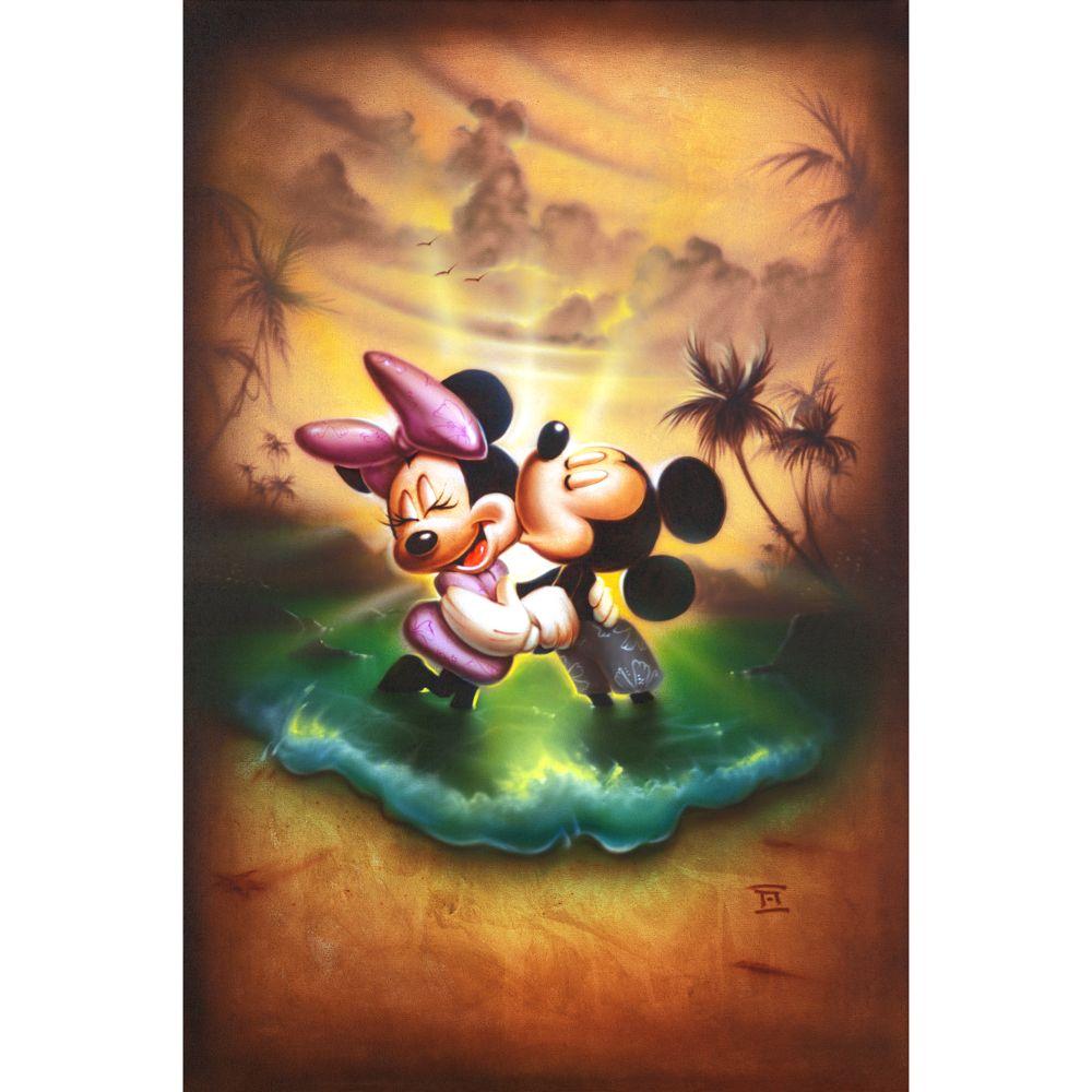 【限定価格セール!】 【取寄せ】 ディズニー US公式商品 ミッキーマウス ミッキー ミニーマウス ミニー ドリーム 絵画 絵 アート ジークレー版画 ギャラリーラップ インテリア 装飾 デザイン 壁 Disney [並行輸入品] Mickey Mouse and Minnie ''Life With You Is a Dream'' Gicl?e by Noah グッ, 山国町 0b919415