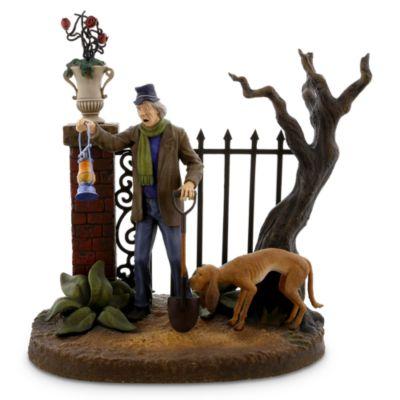 【3月11日に発送】ディズニー Disney US公式商品 ホーンテッドマンション フィギュア 置物 人形 [並行輸入品] The Haunted Mansion Caretaker Figurine