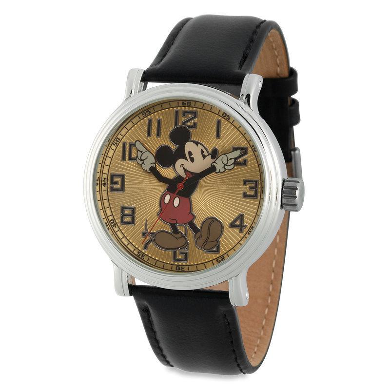 【取寄せ】 ディズニー Disney US公式商品 ミッキーマウス 腕時計 ヴィンテージ ビンテージ 大人用 大人 [並行輸入品] Vintage Mickey Mouse Watch - Adults グッズ ストア プレゼント ギフト 誕生日 人気 クリスマス 誕生日 プレゼント ギフト