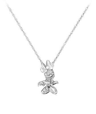 【取寄せ】ディズニー Disney US公式商品 ミニーマウス ネックレス ジュエリー アクセサリー [並行輸入品] Minnie Mouse Necklace