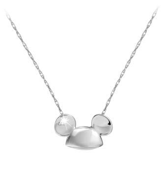 【取寄せ】ディズニー Disney US公式商品 ミッキーマウス ネックレス ジュエリー アクセサリー [並行輸入品] Mickey Mouse Ears Necklace