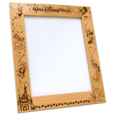 【取寄せ】ディズニー Disney US公式商品 ウォルトディズニーワールド フォトフレーム 写真フレーム 写真立て 額 アリバスブラザーズ [並行輸入品] Walt Disney World Frame by Arribas - Personalizable