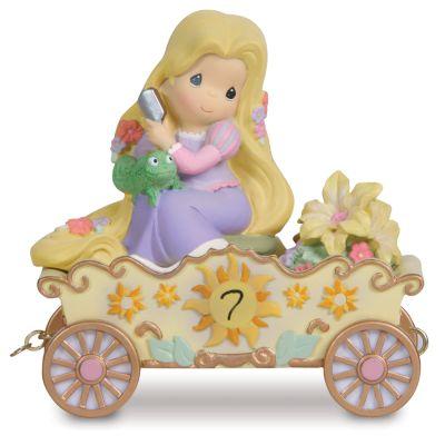 【取寄せ】ディズニー Disney US公式商品 塔の上のラプンツェル プリンセス プレシャスモーメント 置物 フィギュア 人形 プレシャス・モーメンツ [並行輸入品] ''I'm in Heaven to Be Seven'' Birthday Rapunzel Figurine by Precious Momen