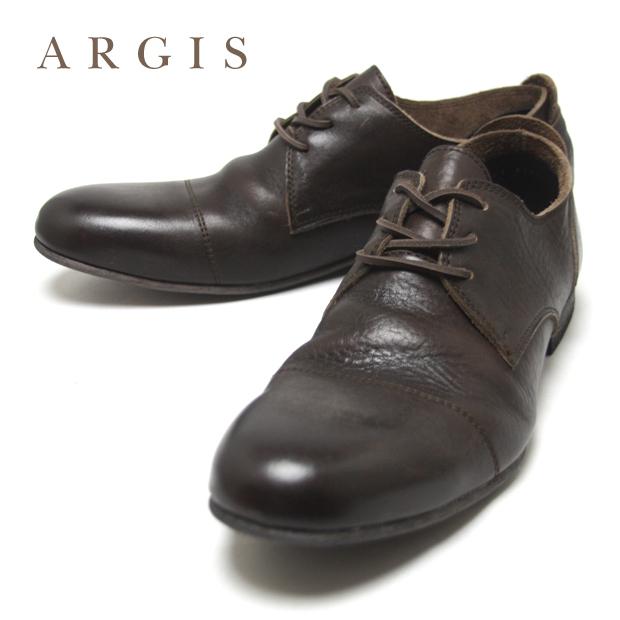 ARGIS アルジス ローカット レザーシューズ 茶 メンズ メンズファッション ブラウン 91102 D.BRN / スエード スウェード 生地 25.5 26 26.5 27 27.5 28.0 cm レザー 本革 牛革 革 靴 革靴 カジュアル シューズ 日本製 国産 ビンテージ 送料無料