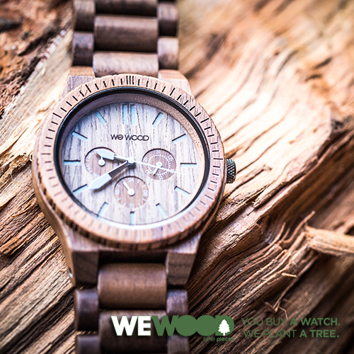 WEWOOD 木製腕時計 『KAPPA』 メンズ 全9種 / ウィーウッド ウッド アナログウォッチ 生活防水 電池式 サイズ調整 人気ブランドウォッチ プレゼント ラッピング ナチュラル 軽い
