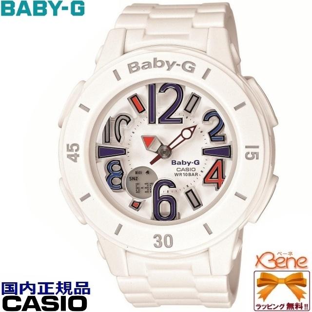 CASIO/カシオBABY-G/ベビージーNeon Marine/ネオンマリンホワイト 白 BGA-170-7B2JF