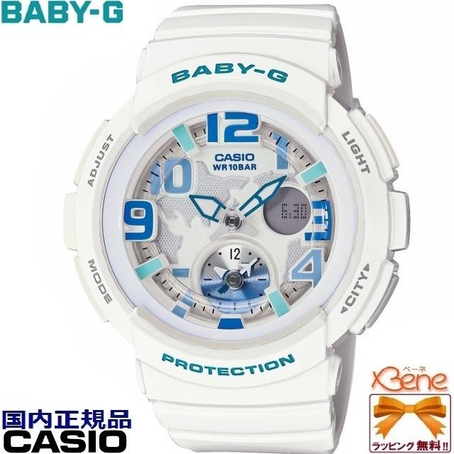 CASIO/カシオBABY-G/ベビージーBeach Traveler Series/ビーチトラベラー・シリーズホワイト 白 BGA-190-7BJF