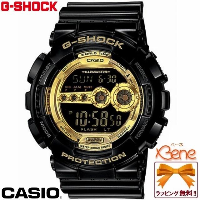 CASIO/カシオG-SHOCK/ジーショックBlack × Gold Series/ブラック×ゴールドシリーズビッグケース GD-100GB-1JF