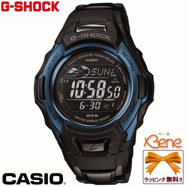 【正規品・送料無料!】CASIO/カシオ G-SHOCK/ジーショック MT-G Black×Blue Series/ブラック×ブルーシリーズ メンズタフソーラー電波 20気圧防水 ワールドタイム 黒×青 MTG-M900BD-2JF