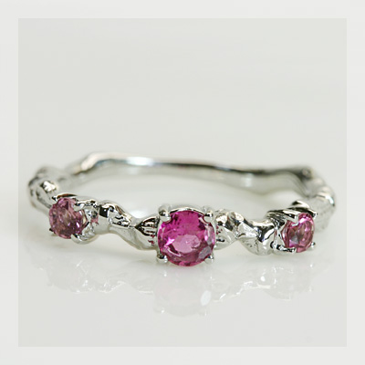 GWイベント開催中 ルベライト× ピンクトルマリン リング 「アルベロ」 誕生石 10月 春色ピンク2020 母の日