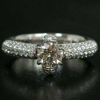 《Bene Premium》 ダイヤモンドリング※現品のお渡しとなります 誕生石 4月