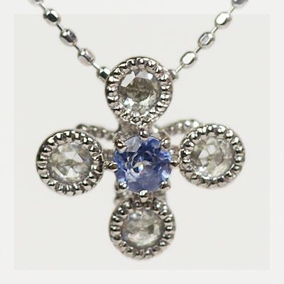 稀少石 プラチナ900製 ベニトアイト×ローズカットダイヤモンドペンダントトップ(チェーン無し) 誕生石 4月