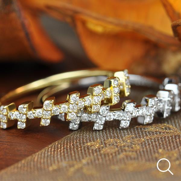 ブリリアントカットダイヤモンドリング「ティセ」ゴールド、ピンクゴールドでもお作り頂けますオーダー 誕生石 4月