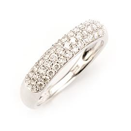 エントリーのみでポイント10倍 4/9 20時~ ダイヤモンドパヴェング「0.4カラットの輝き」送料無料
