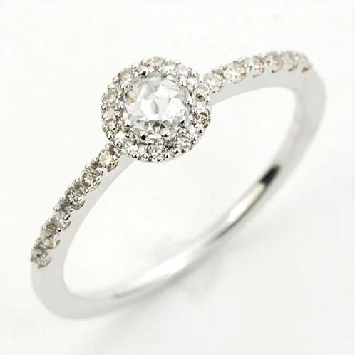 「ルネッサンス」 Renaissance=「再生」ローズカットダイヤ ダイヤモンド リング対応金種:K18WG/K18YG/K18PG/K18SG