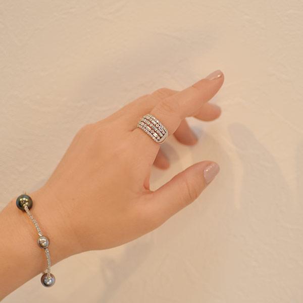 誕生石 4月 ミルグレイスダイヤモンドリングPT900ダイヤ2.0ct現品#12.5(サイズ直し不可) 限定1本