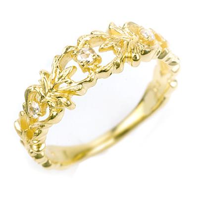 ローズカット ダイヤモンド リング 「フロンダ」 対応金種:K18(ホワイトゴールド、イエローゴールド、シャンパンゴールド、ピンクゴールド)