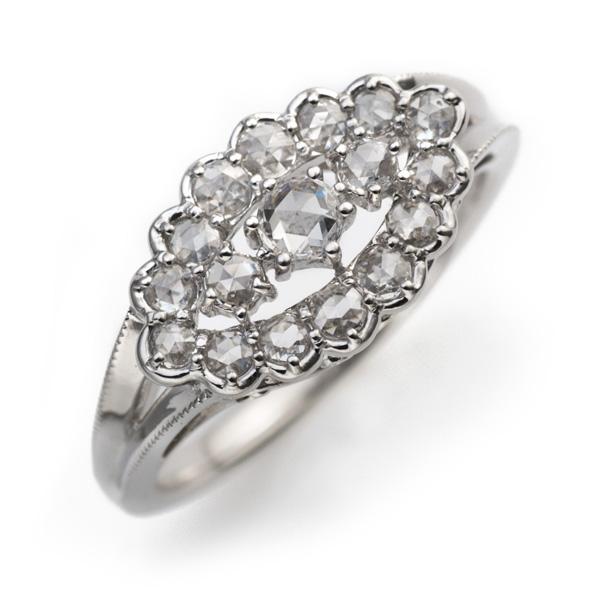 ローズカットダイヤモンド「オルロ」 orlo リング対応金種K18ホワイトゴールド/K18シャンパンゴールド/K18イエローゴールド/K18ピンクゴールド