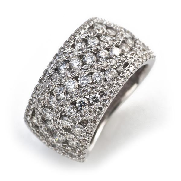 4/9 ダイヤモンド1.5ctカナルセッティングリング対応金種K18ホワイトゴールド/K18シャンパンゴールド/K18イエローゴールド/K18ピンクゴールド 20時~ エントリーのみでポイント10倍