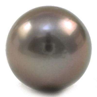 エントリーのみでポイント10倍 4/9 20時~ ☆タヒチ黒蝶真珠 チョコレートカラー 10mm1個限定製品オーダー可能※こちらのルースを使用してのオーダー・セミオーダー・カスタマイズもお受けできます。送料無料