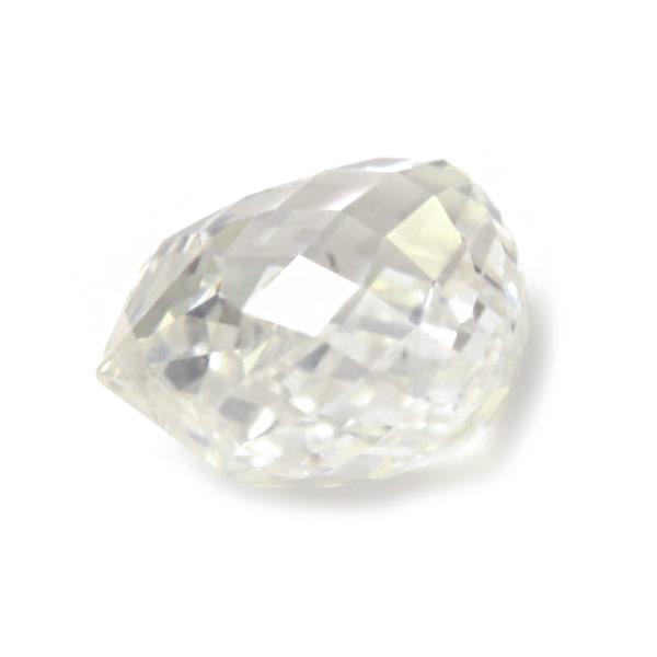エントリーのみでポイント10倍 4/9 20時~ ☆1.229ct 大粒 ブリオレット ダイヤモンド ソーティングメモ付※こちらのルースを使用してのオーダー・セミオーダー・カスタマイズもお受けできます。送料無料